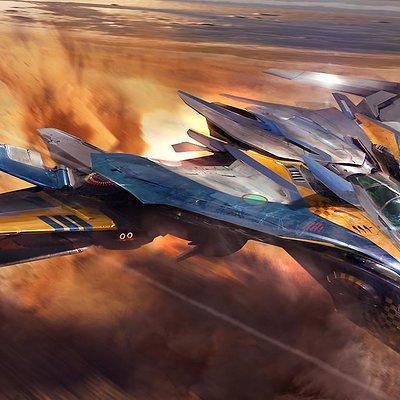 Atomhawk design gotg milano flight