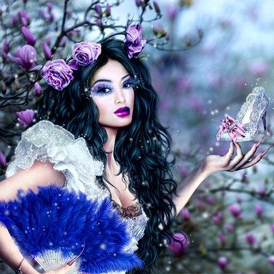 Katarina sokolova latanska cinderella in magnolia s garden