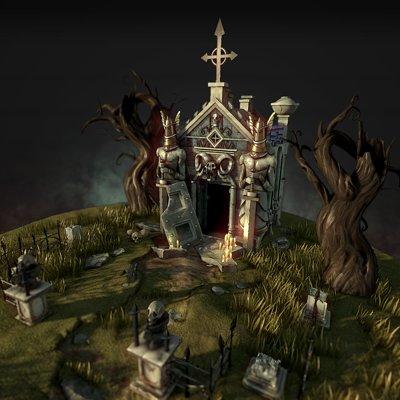 Leonardo carrion spooky shrine 00