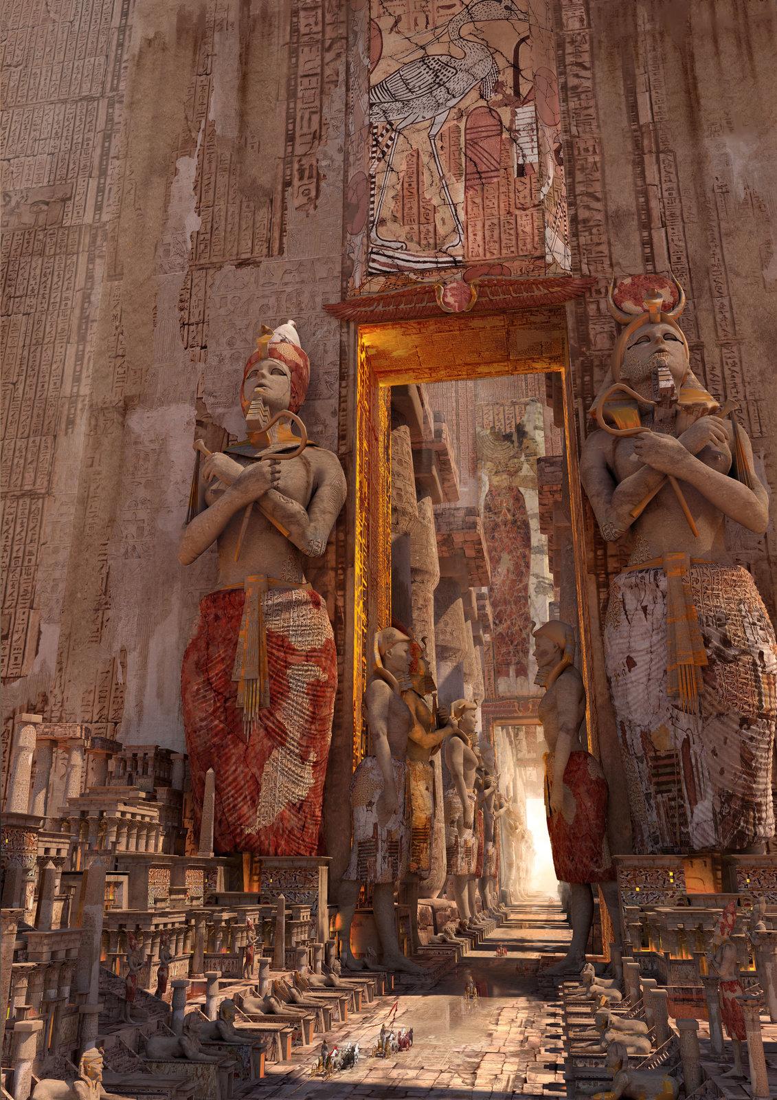 door of Luxor