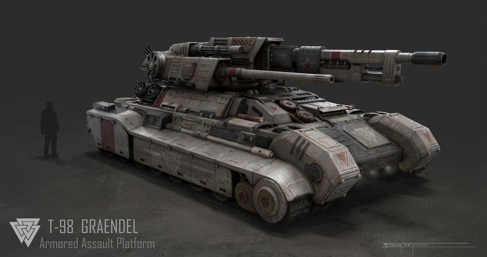 Graendel Heavy Tank Concept