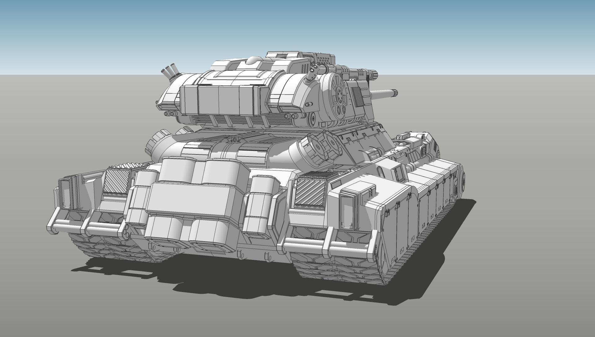 Muyoung kim armor grendal tank concept v6 kr 4