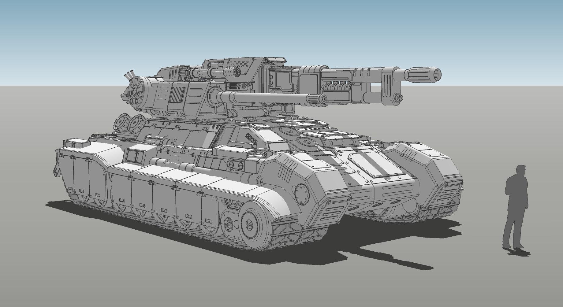 Muyoung kim armor grendal tank concept v6 kr 1