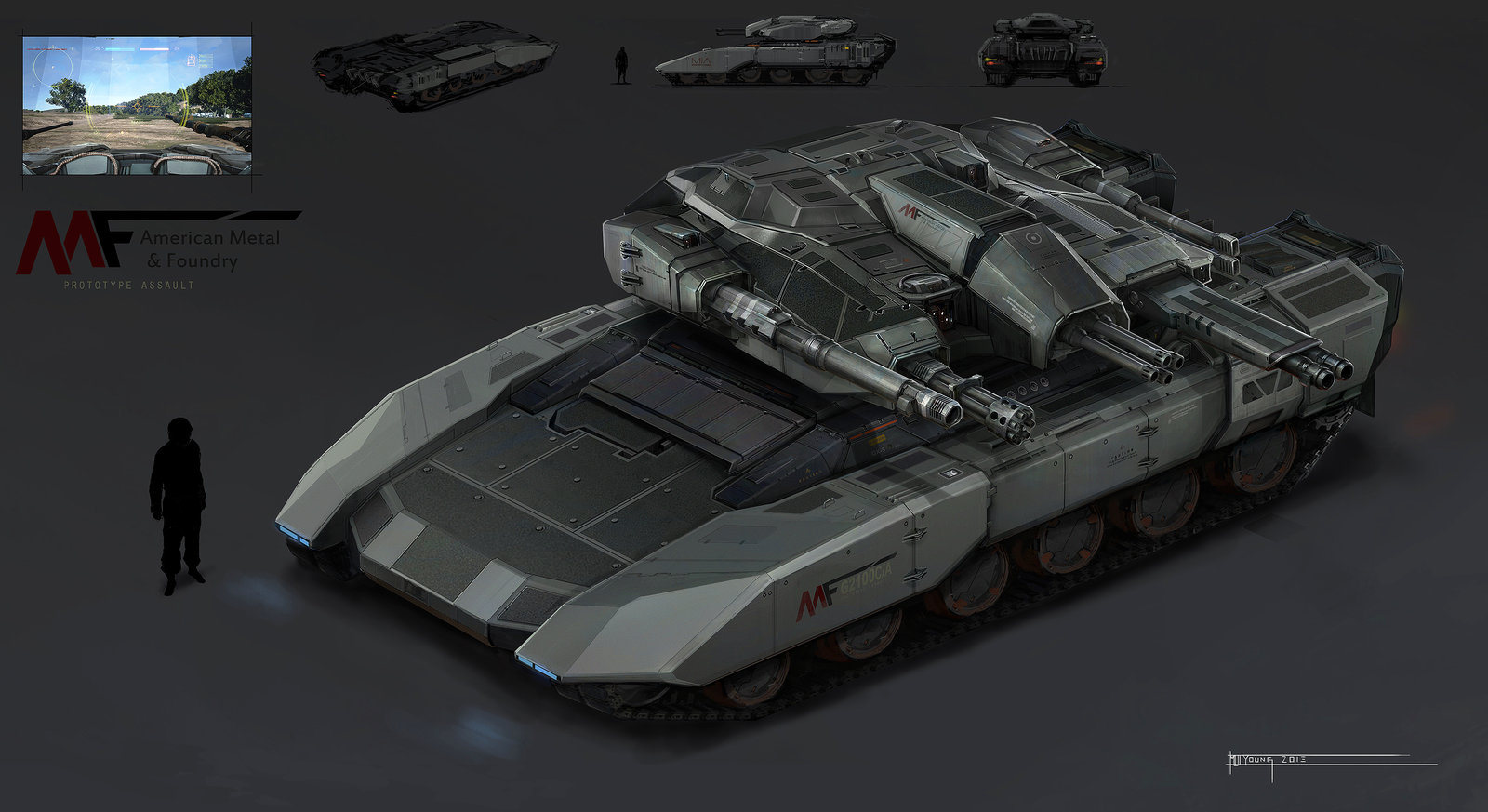 Leopard Tank Concept