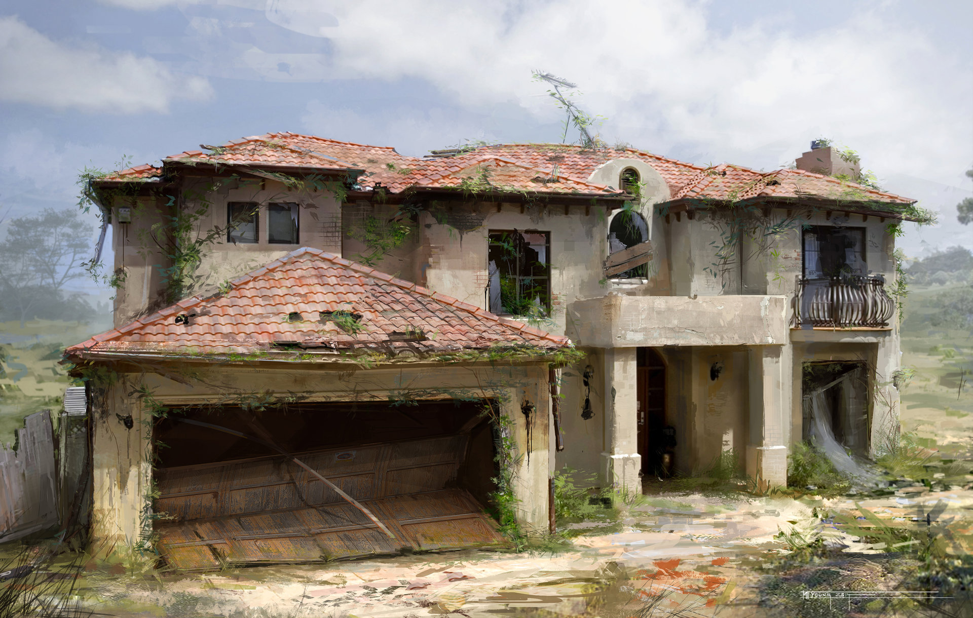 Ruined Home