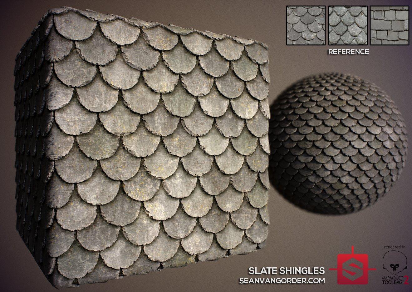 Slate Shingles | Disc