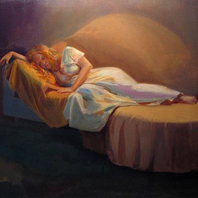 Alex bobylev sleepingwoman