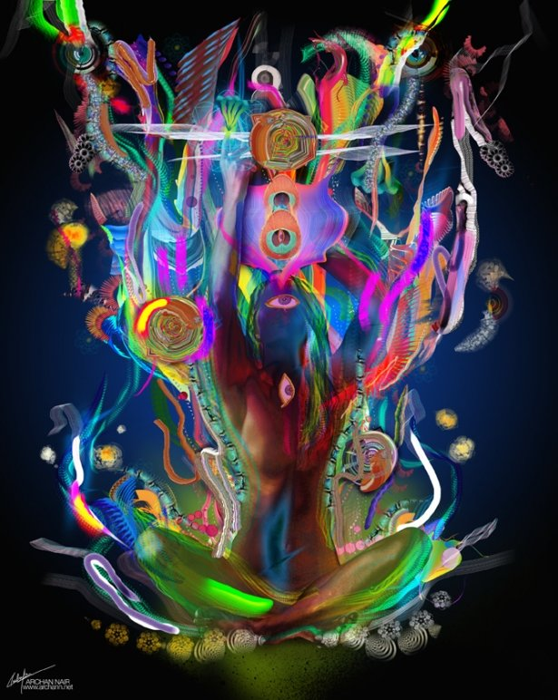 Archan nair ethereal cosmosis archan