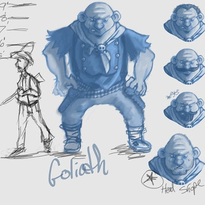 Matt ramsey goliath sketches