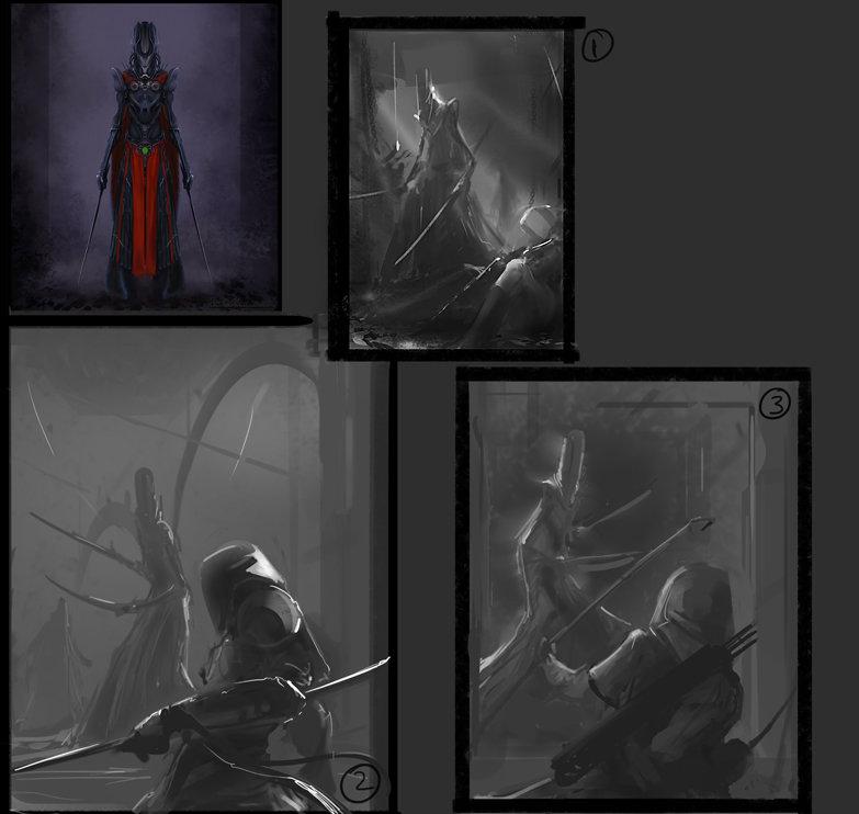 Original Slicer concept art + illustration thumbnails.