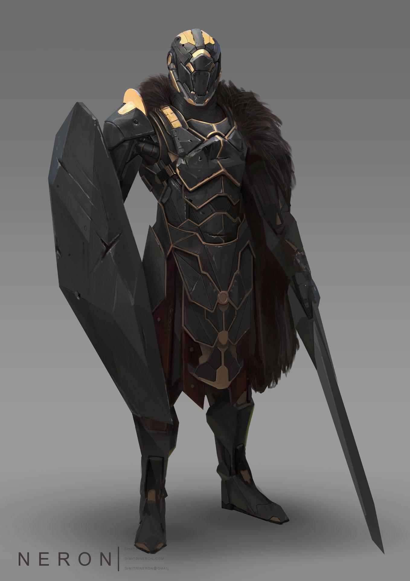 Artstation Space Knight Dimitri Neron