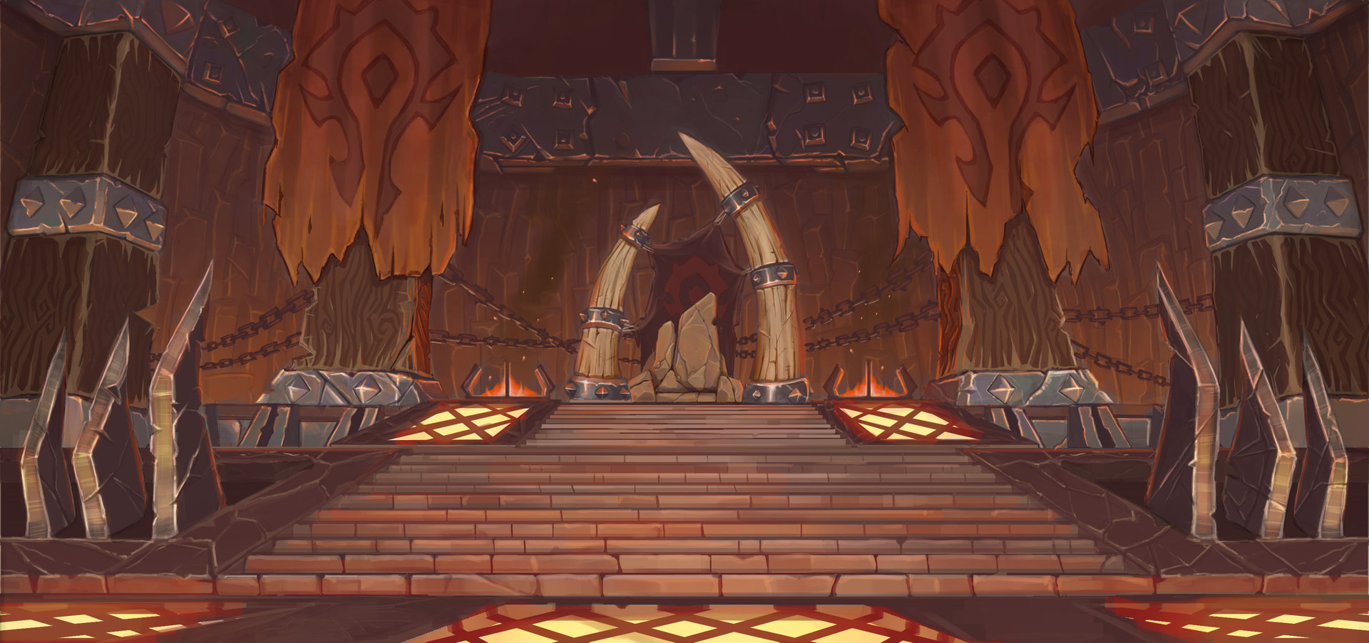 Horde Throne Room