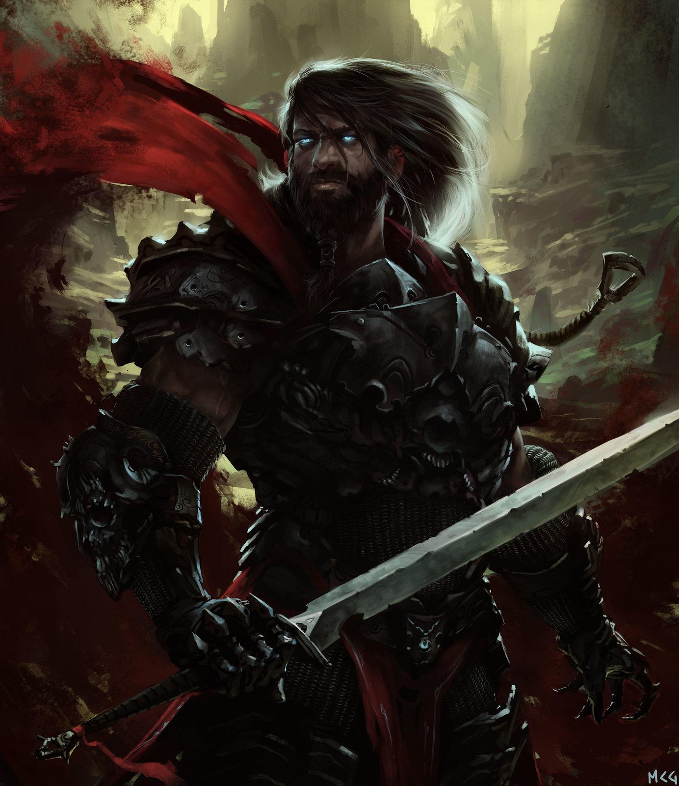 Standing sword dude