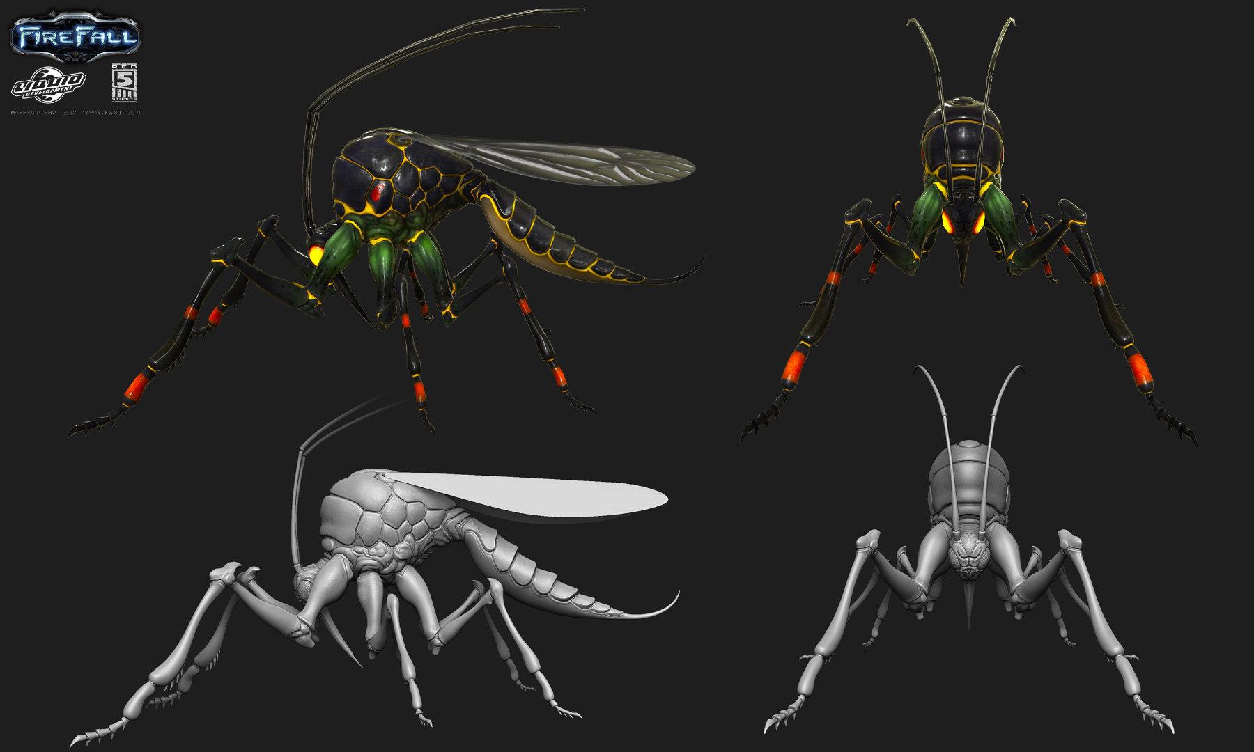 Mashru mishu firefall jungle mosquito
