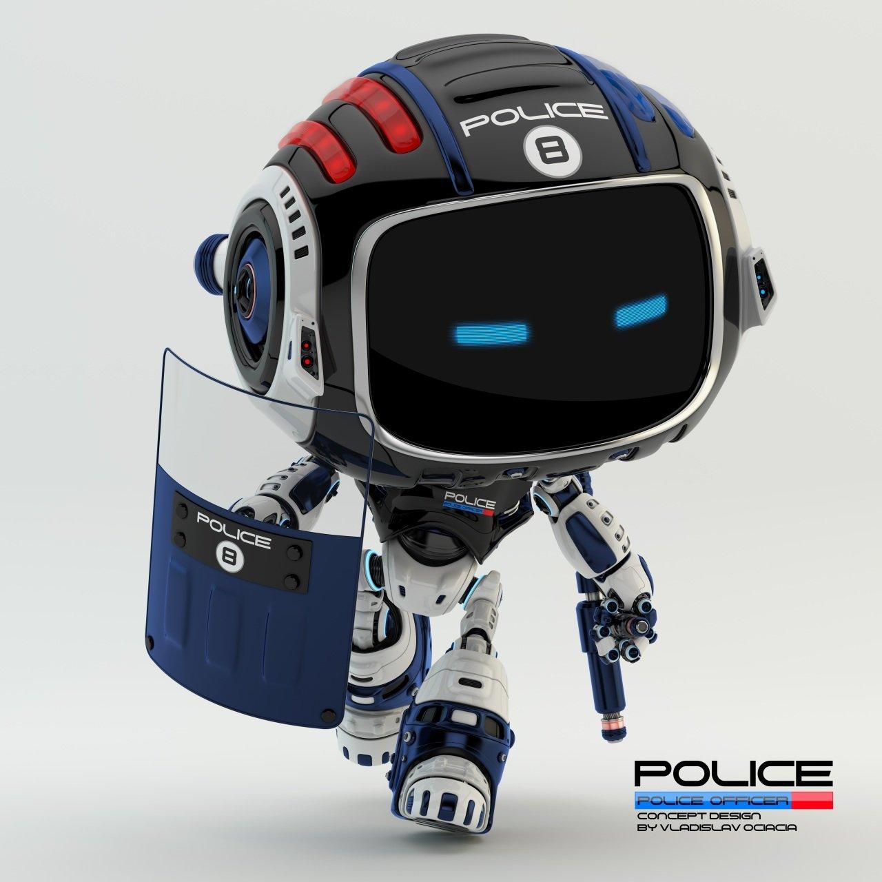 Vladislav ociacia police robot 11