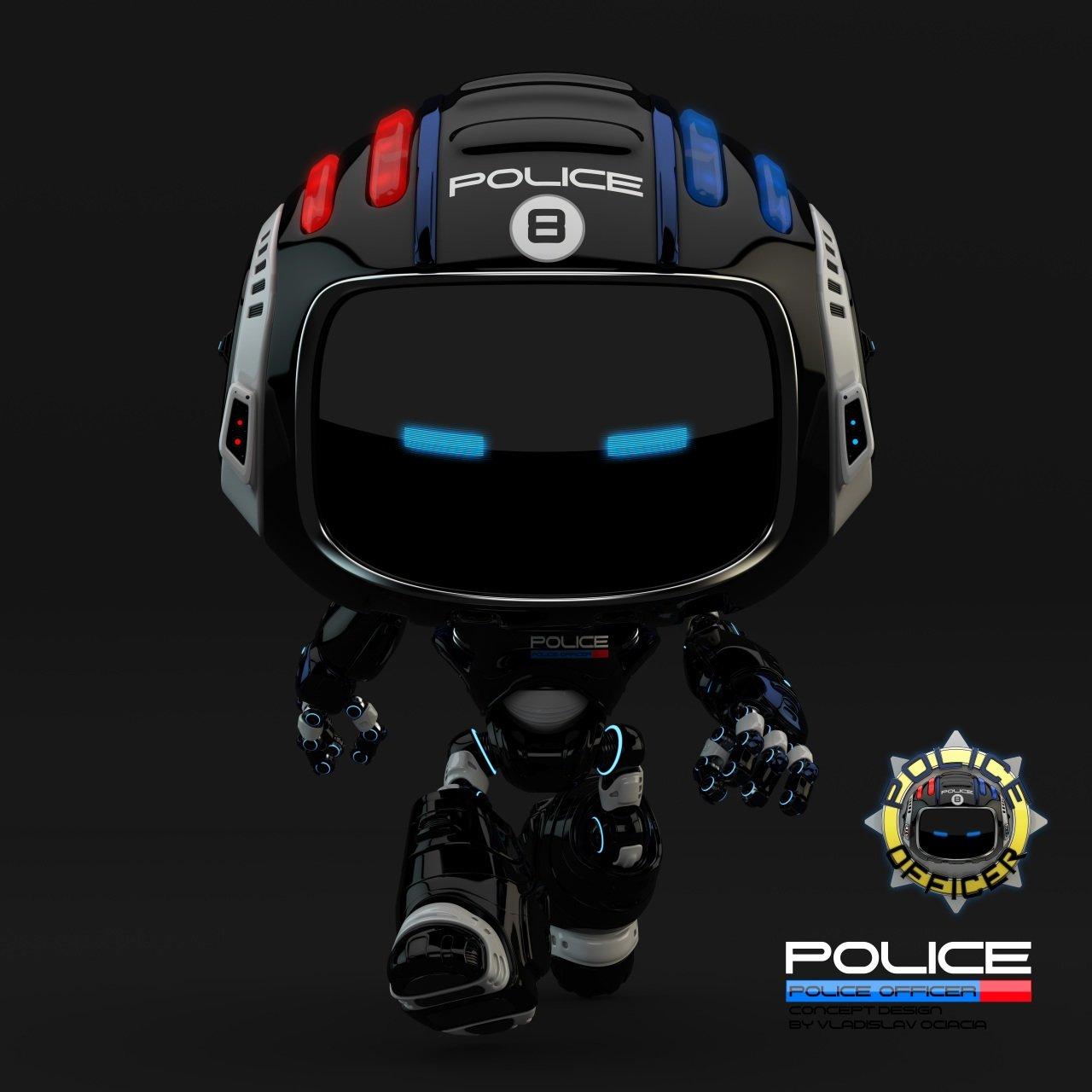 Vladislav ociacia police robot 6