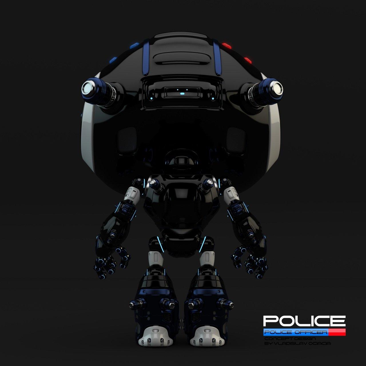 Vladislav ociacia police robot 7