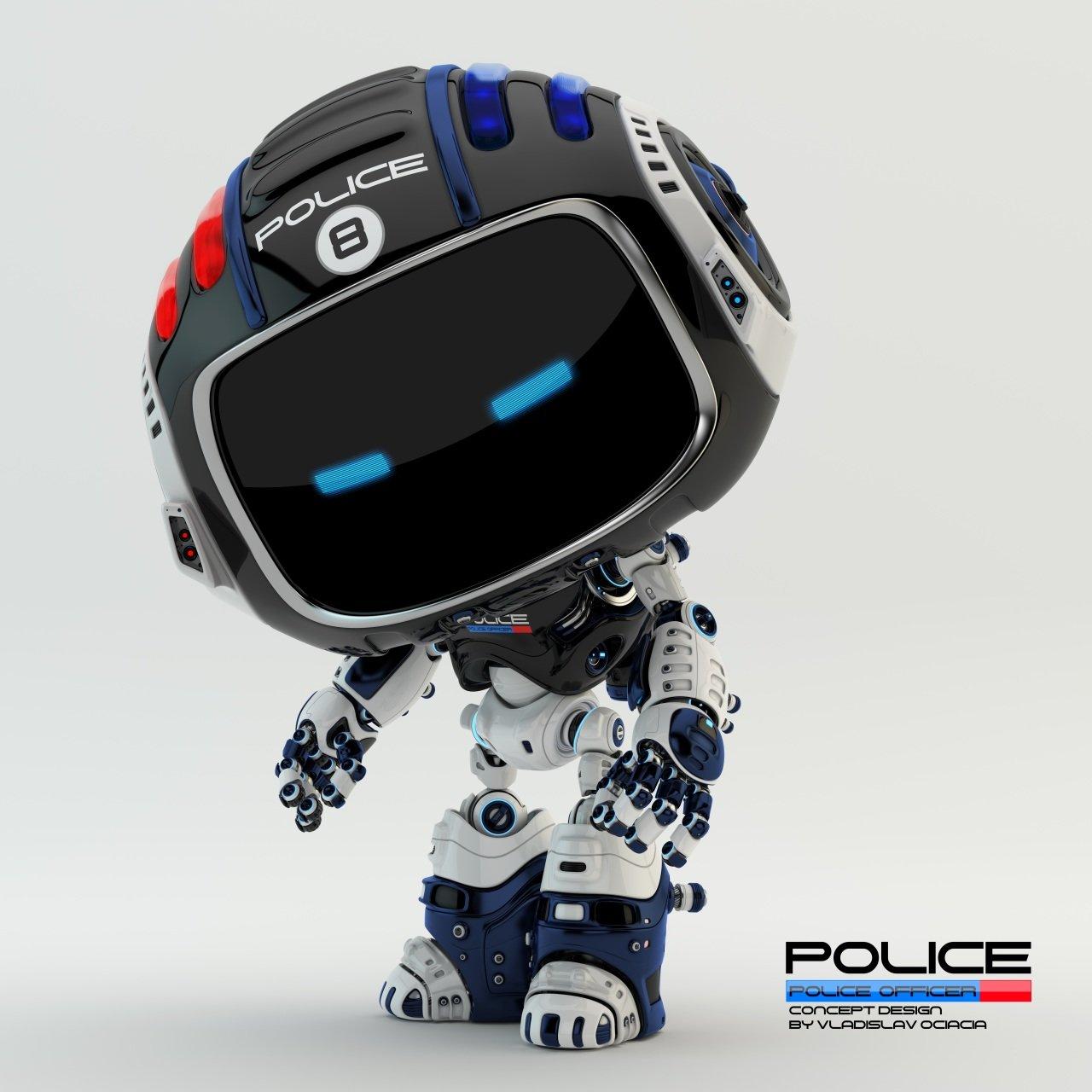 Vladislav ociacia police robot 8
