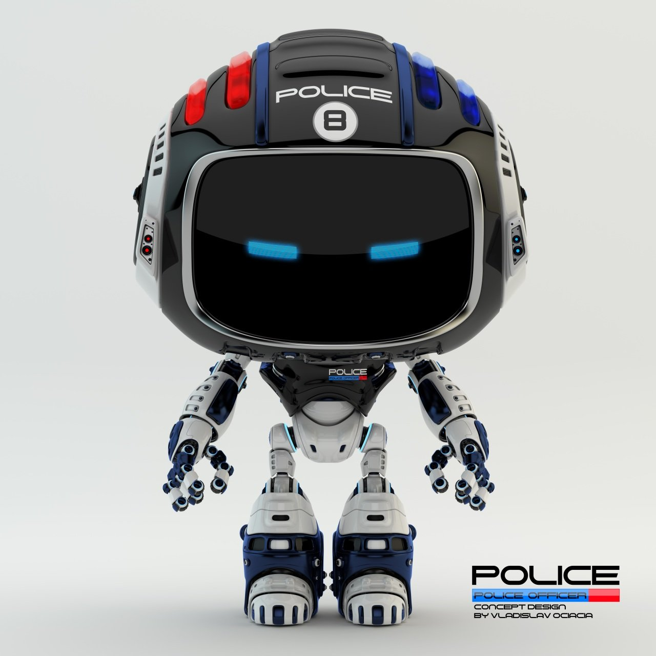 Vladislav ociacia police robot 9