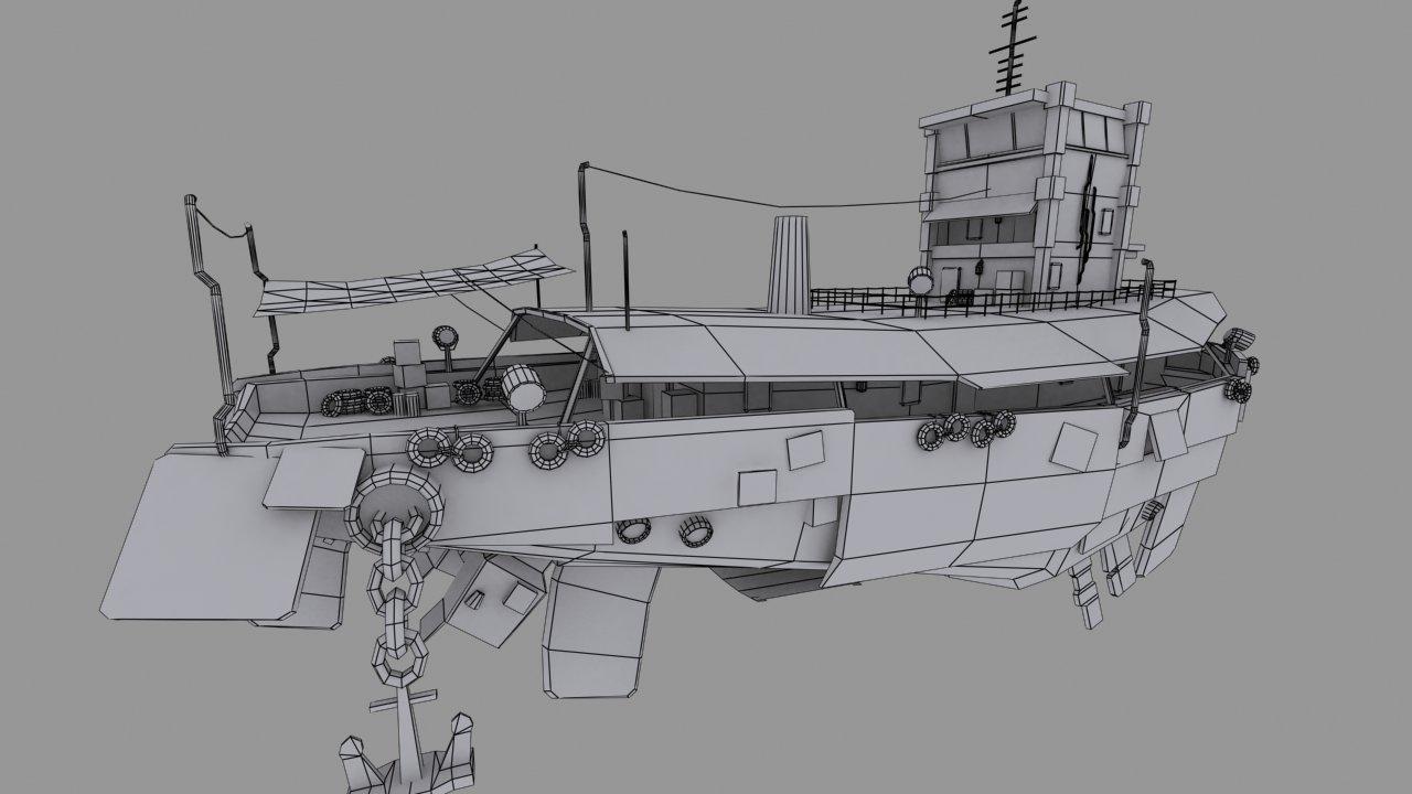 Marvin supan airship scrapmetal wire