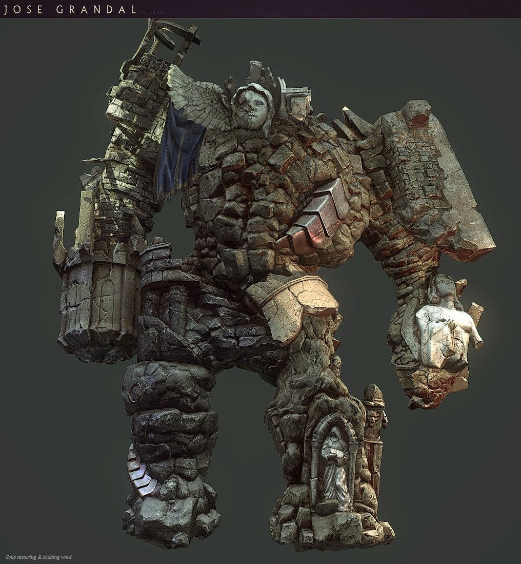 Castlevania: Lords of Shadow 2. Golem