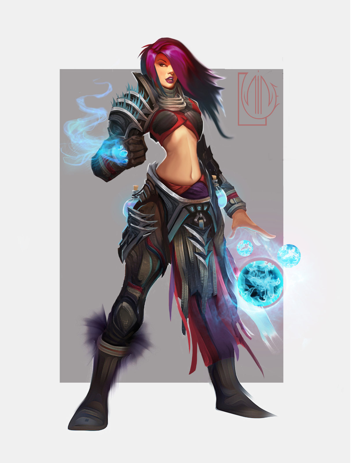 Female Sorceress