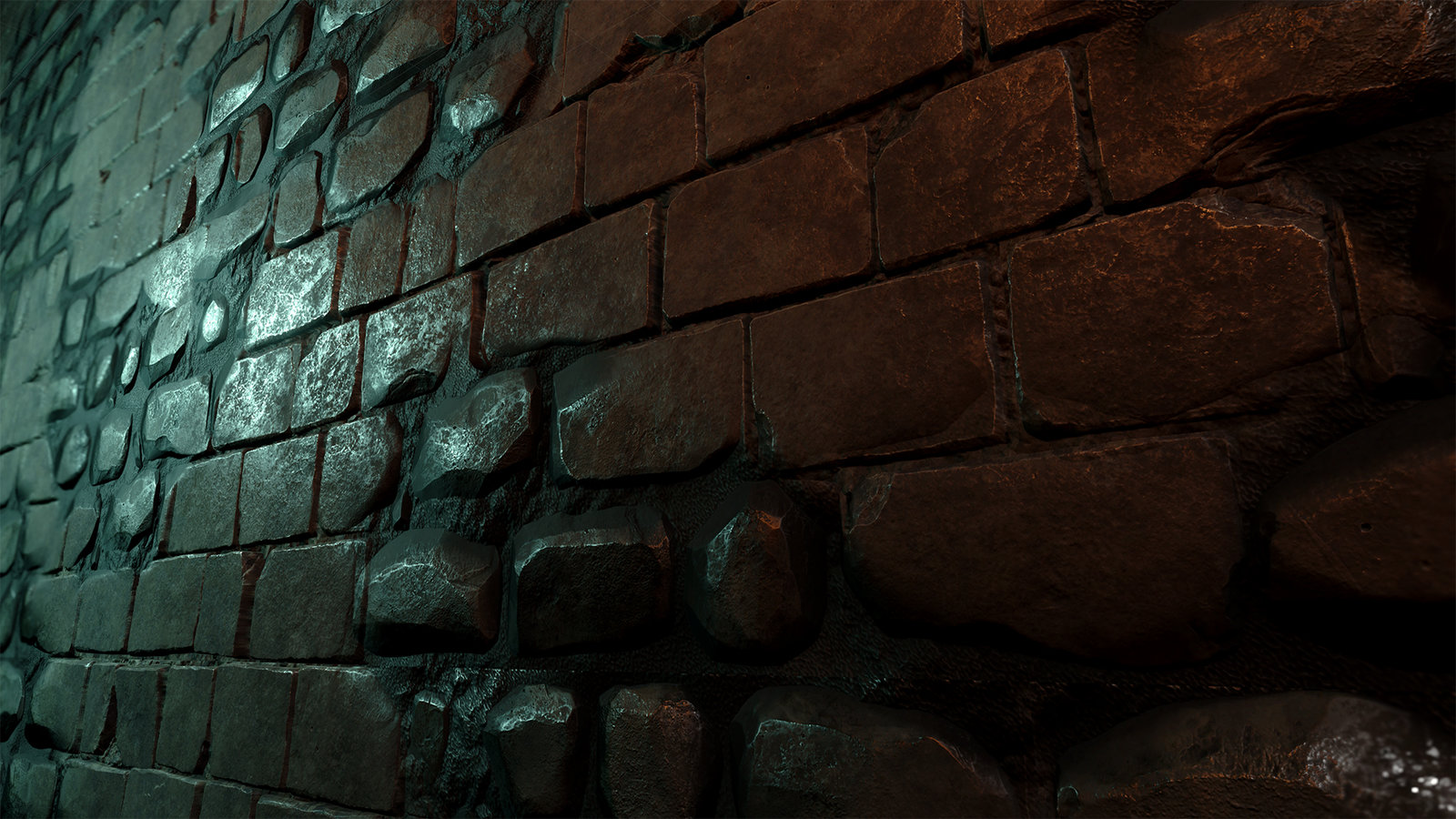 brick wall texture in Unreal 4