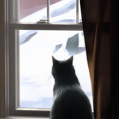 Christopher balaskas cat window as
