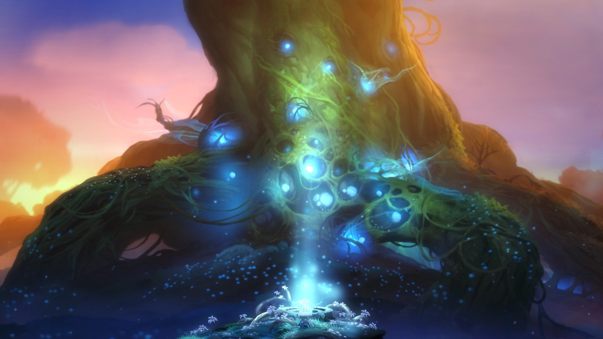 Artstation Ori And The Blind Forest Ingame Art Johannes Figlhuber