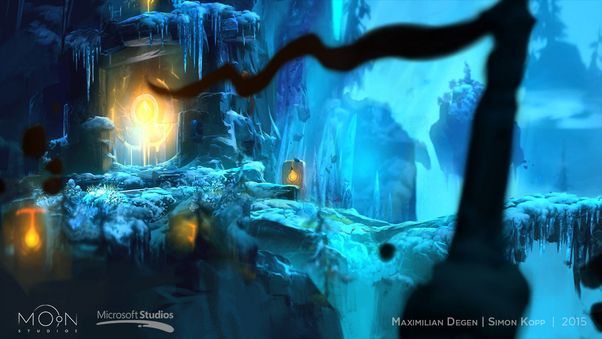 Forlorn Ruins - Concept by Max, Overpaint by me