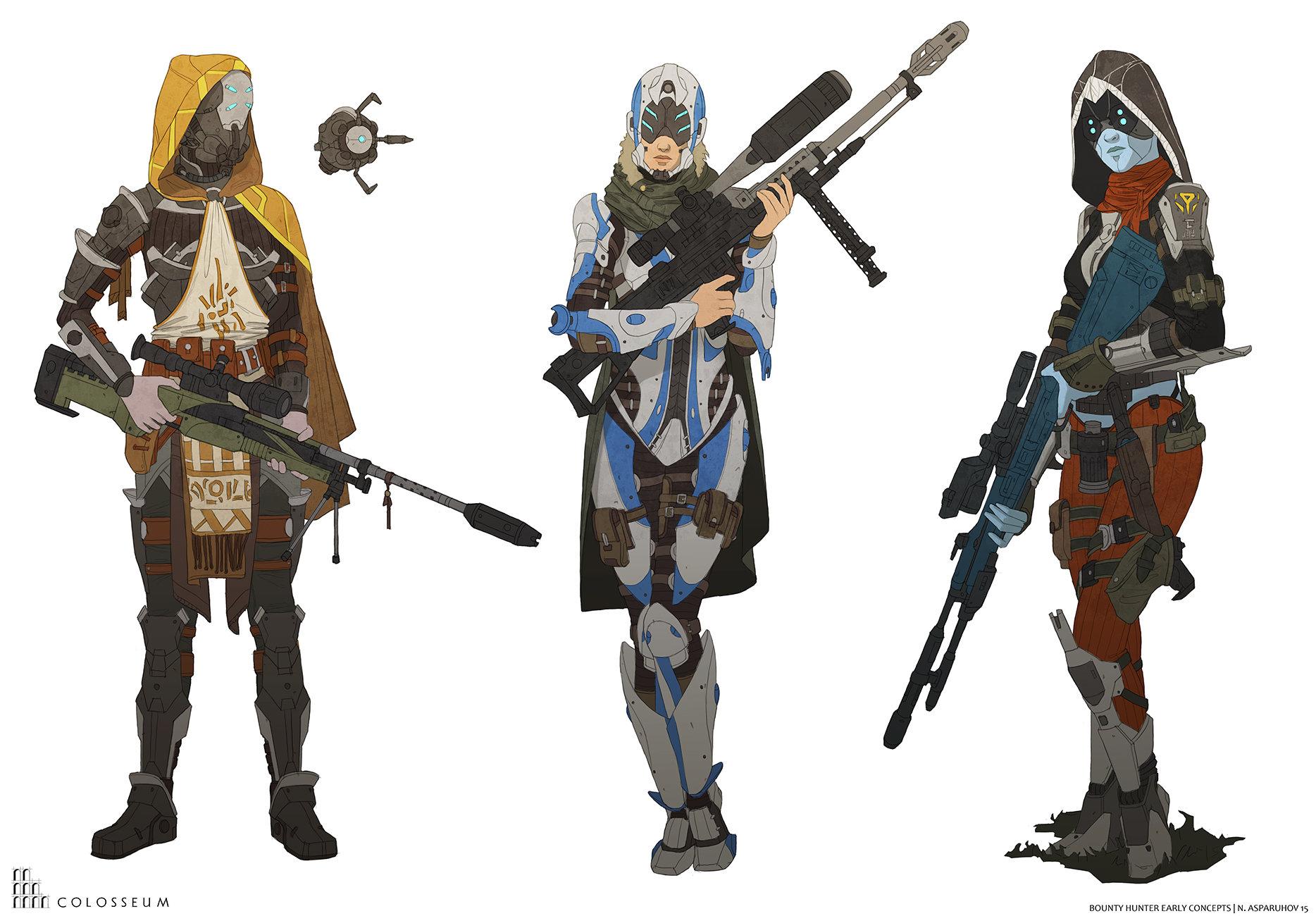 Nikolay hunter
