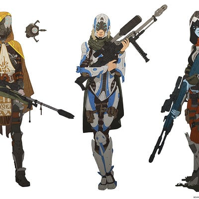 Nikolay asparuhov bounty hunter early concepts