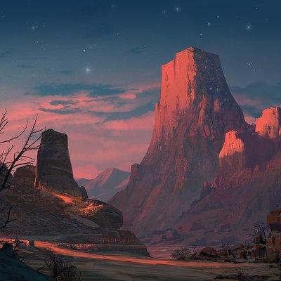Josh hutchinson starry mountain