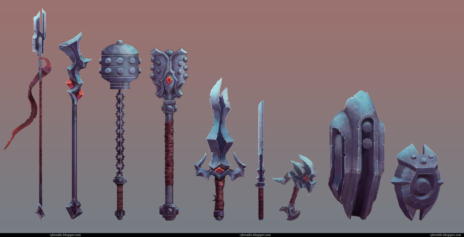 Cold Weapon Concepts