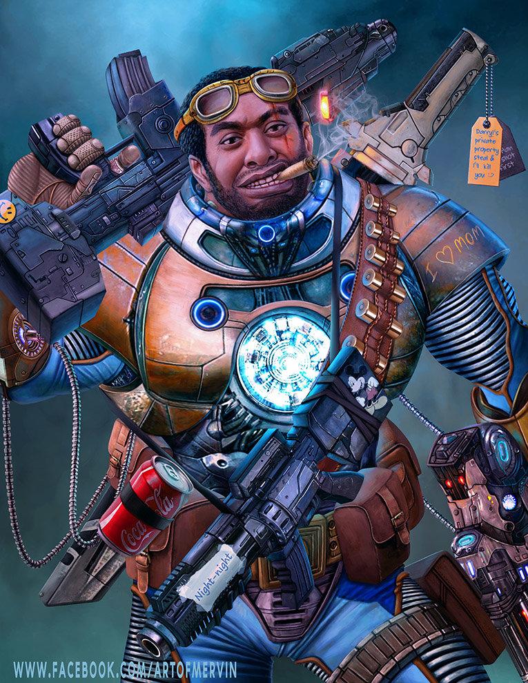 Mervin kaunda mercenary