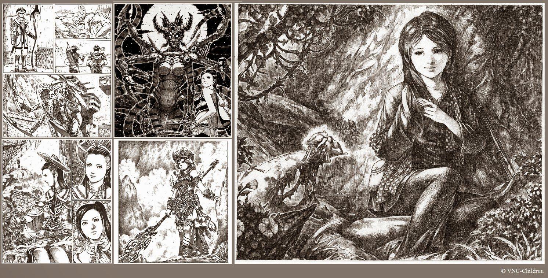 Hai hoang hai hoang graphic novel pages