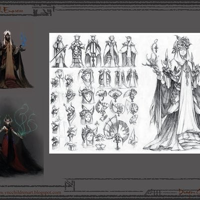 Hai hoang witch empress final sketch post