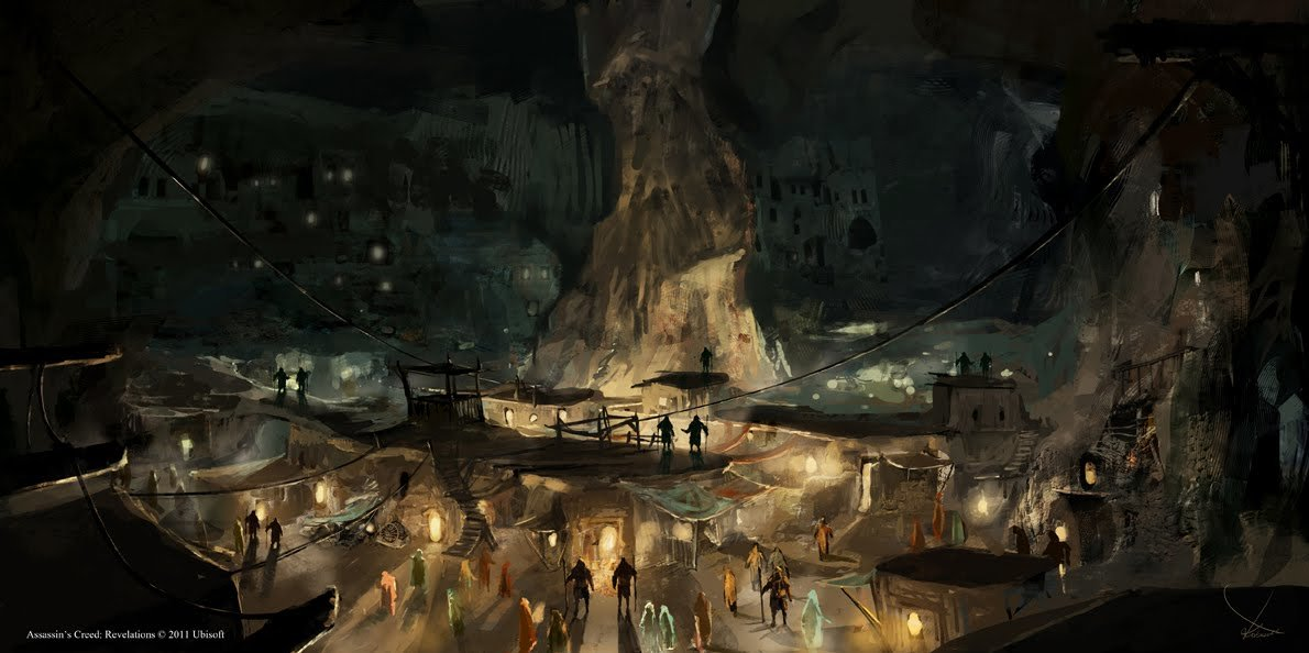 Assassin's Creed Revelation- Cappadocia underground city