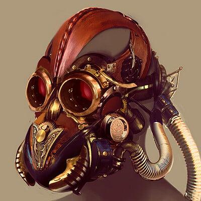 Isaiah sherman isaiah sherman steampunk mask 2012