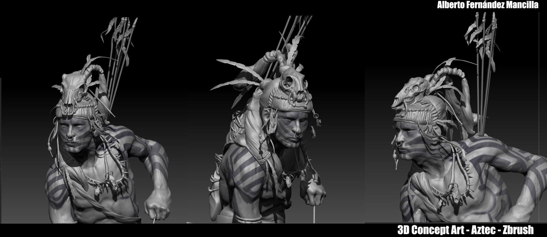Alberto Fern 225 Ndez 3d Character Concept Art