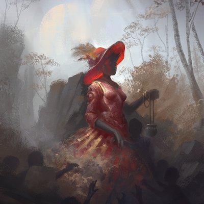 Jon dunham lady in red2
