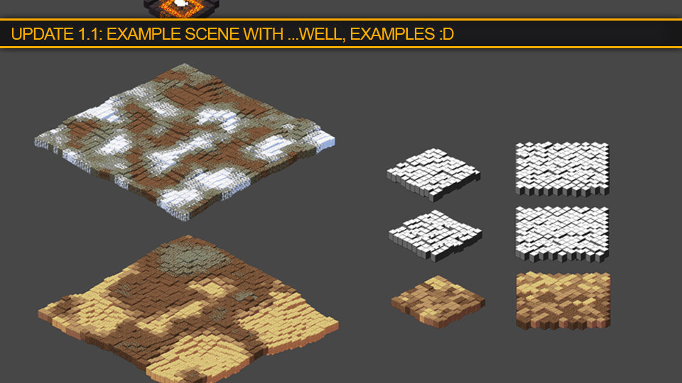 Example how to create worlds from bitmaps including heightmaps. The world generator will be released soon, too!