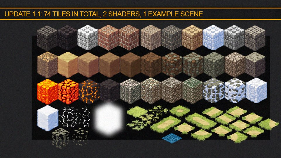ArtStation - Isometric Tile Bundle, Max Heyder Art