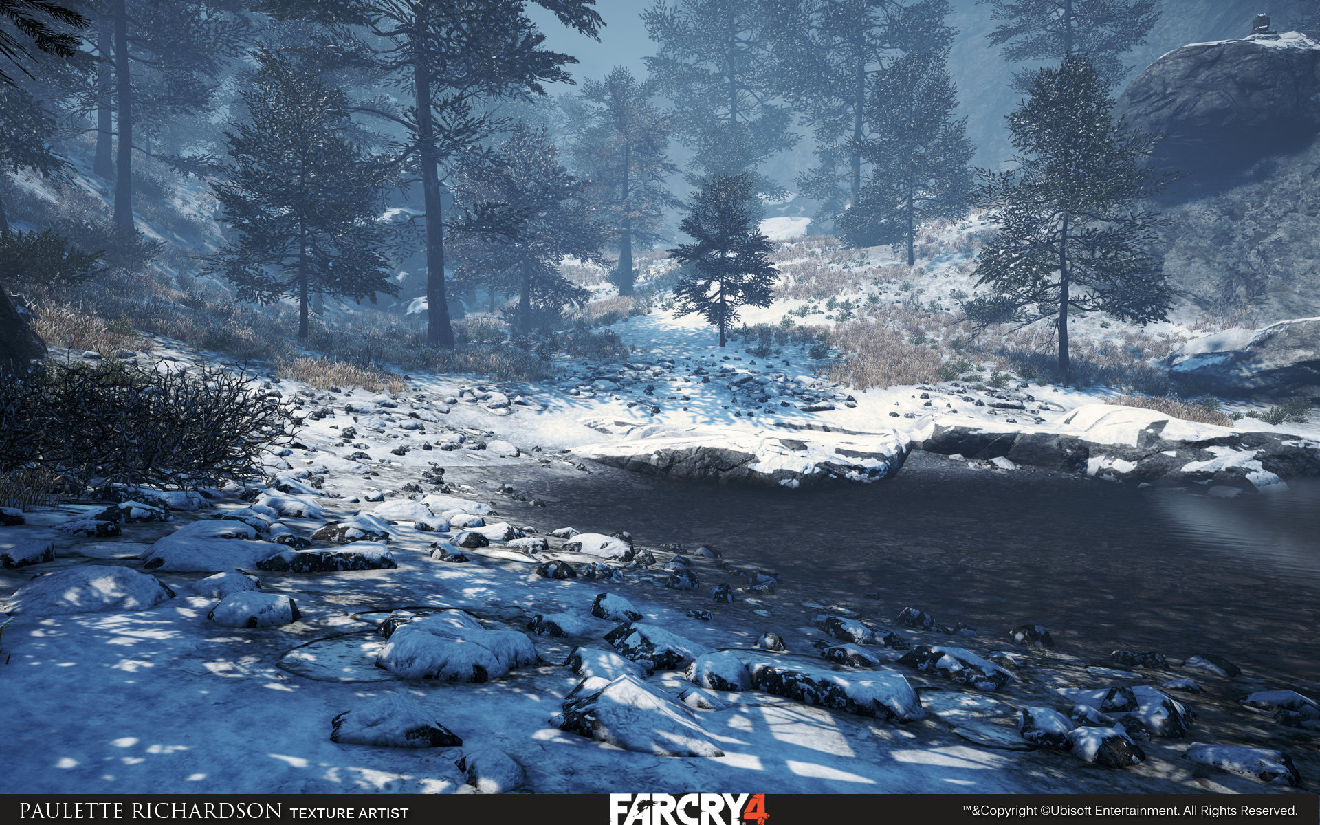Artstation Far Cry 4 Dlc Valley Of The Yeti Paulette Richardson