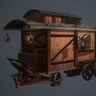 Marius popa merchant wagon 02