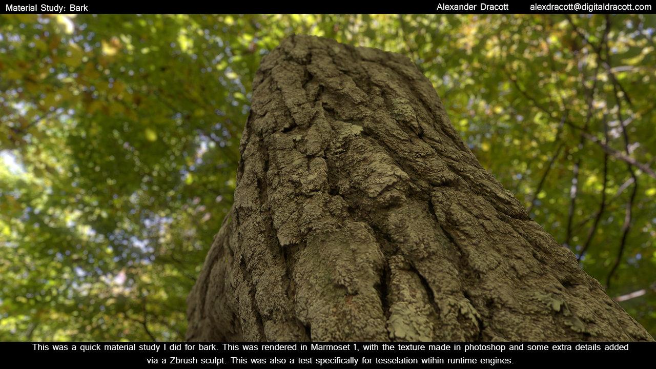 Alexander dracott mat bark