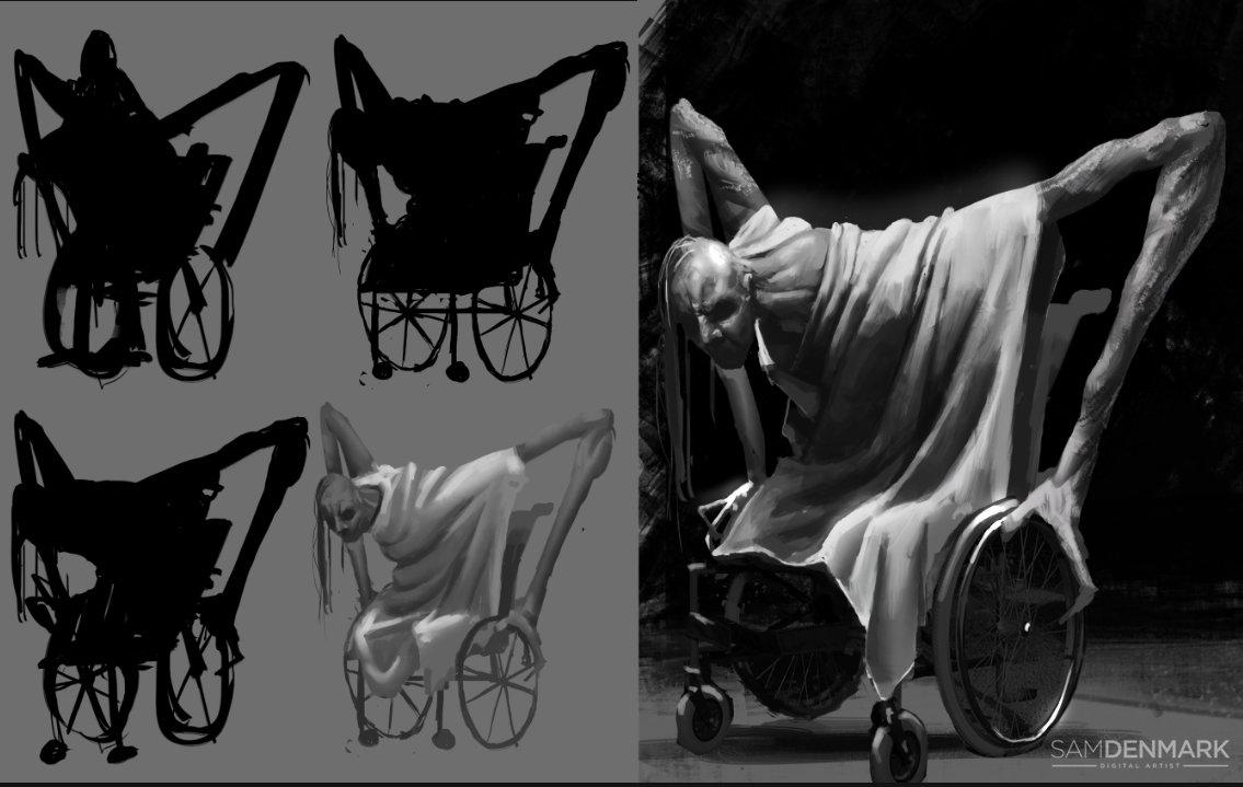 Sam denmark wheelchair