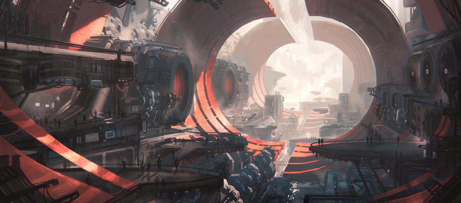 Leon tukker spacestationfinished