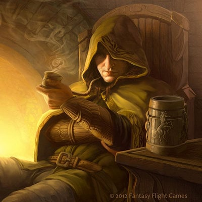 Tony foti lord of the rings tcg strider by anthonyfoti d4wikm1