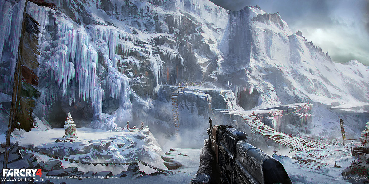 how to start valley of the yetis far cry 4